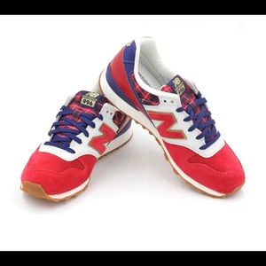 •New Balance• 996 Red White Blue sneakers
